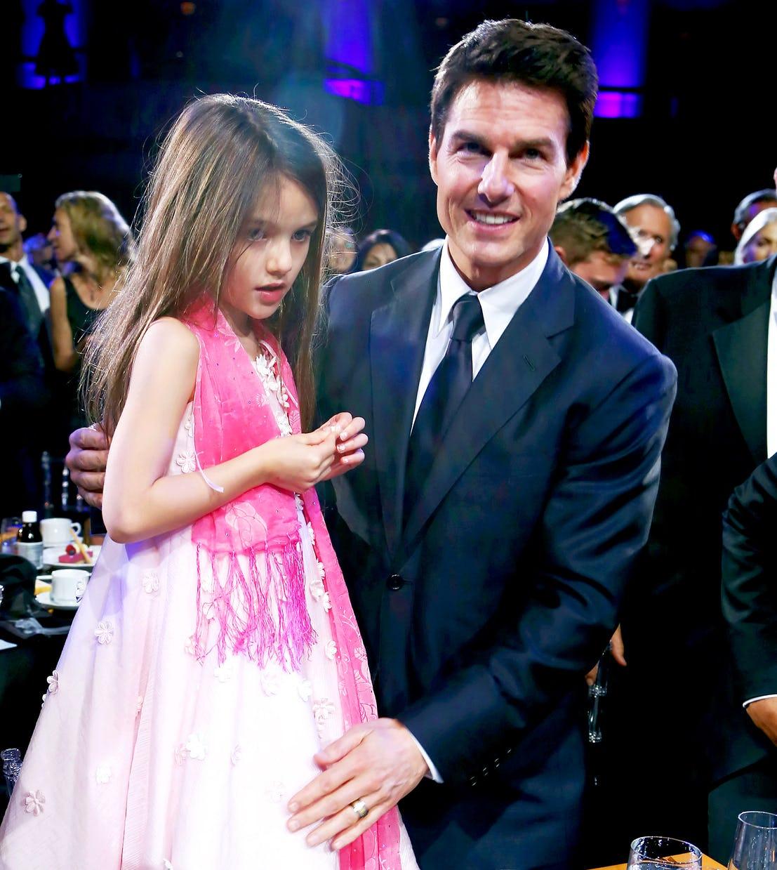 14個因為湯姆克魯斯「他女兒再也無法做的事情」