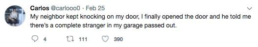 他在車褲發現「搖晃哥來借宿」 正好心想收留...他「人體後門卻火山爆發」臭到想放生