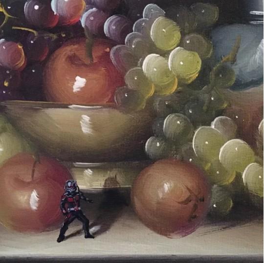 25張將現代流行「亂入到傳統畫作」的完美合成體!