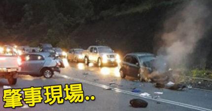人妻開車帶老公、女兒出遊,車子打滑衝逆向車道「9月女嬰拋物線飛出車窗」摔地全身碎裂