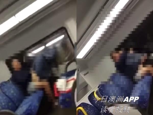 火車上驚見「男頂女搖激戰每一站」,忘我發出「哦~~」乘客驚呆:這孕婦太猛! (便當影片)