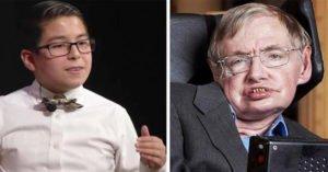 霍金錯了?11歲天才兒童盼成物理學家證明「上帝存在」