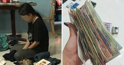 女傭被抓包「偷錢塞衛生棉」!雇主狠酸:感謝她讓我知道我多有錢