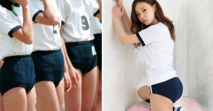 日本女學生都穿超緊運動短褲?「有穿等於沒穿」黑歷史