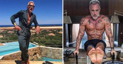 這名51歲義大利富豪不只長得帥又事業有成,「西裝底下的過份養眼身材」才真的證明老天爺超不公平!