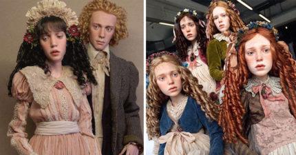 這些中世紀帥哥正妹照讓人「越看越毛」不敢直視,得知「背後真相」網友驚:髒東西都特別喜歡...(15張+影片)