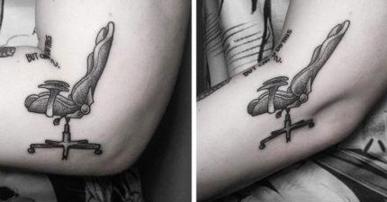 25個讓你想要把自己肉體變成畫布的「史上最完美刺青」