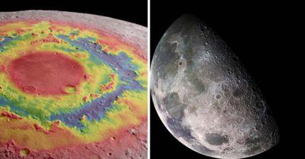 NASA公開「4K超高清探月影片」一窺神秘黑暗面!近看月球表面宛如「一顆顆美麗綠寶石」(影片)