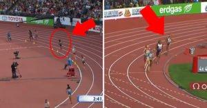 正妹選手接力賽落後第4 最後過彎「光速開外掛」網友跪著看完