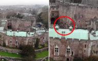 無人機拍到「騎馬騎士怪物」飄過庭院 他:奶奶昨天去世了