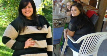 外婆媽媽都心臟病,140公斤胖妹「狠鏟82公斤」變葡萄乾但之後變身超正健美腹肌女神!