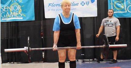 這阿嬤惹不起!97歲老嬤舉重爆紅 100歲願望嚇尿一票男人:要舉90kg