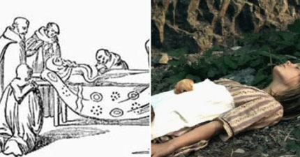 中世紀最狂職業!吃長蛆屍體上的麵包 「食罪人」代替死者下地獄