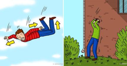 7招讓你遇上災難時存活率+80%的「從高處墜下自救術」,學起來墜機摔樓都滅不了你!「摔落姿勢」很重要...