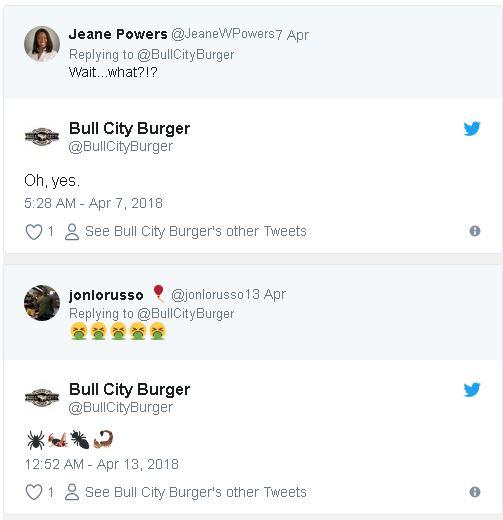 漢堡店推出「史上最噁美味漢堡」挑戰吸引顧客,「全身毛8條腿大蜘蛛代替起司」客人試吃後都說讚