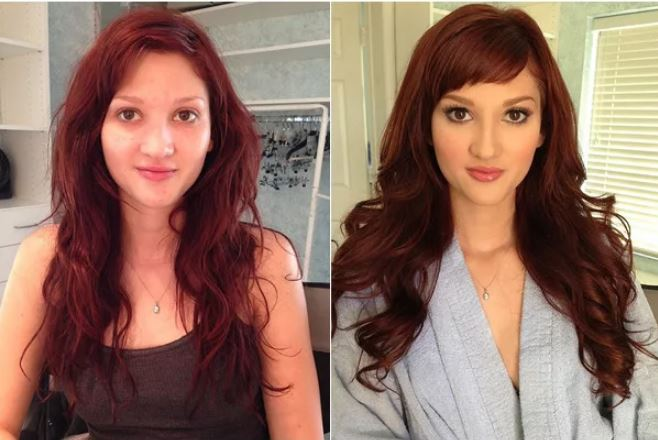 23張證明妳應該和化妝師打好關係的「化妝前後對比照」
