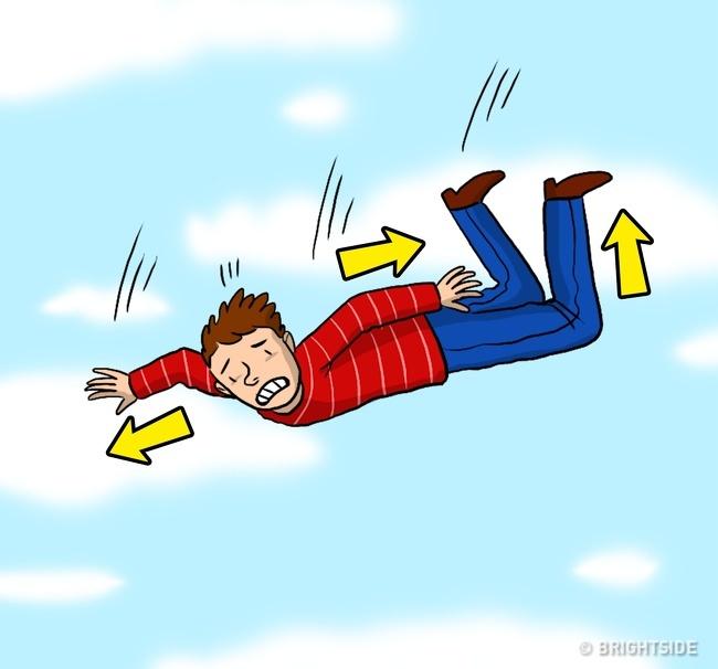7招讓你「存活率+80%」的從高處墜下自救術 「摔落姿勢」很重要!