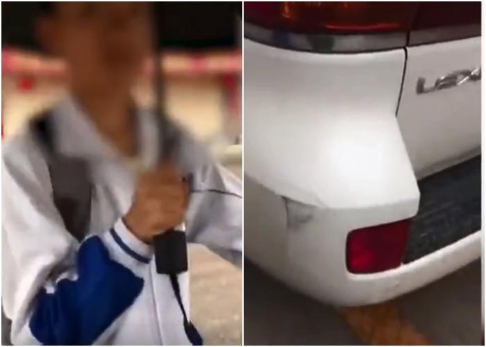 500萬LEXUS被腳踏車刮爛,車主憤怒下車求賠償「但一看到學生的紅包袋」瞬間就鼻酸:你走吧...