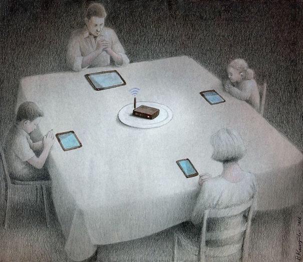 30張需要一點小智慧才看得懂的「這個世界生病了」諷刺插畫