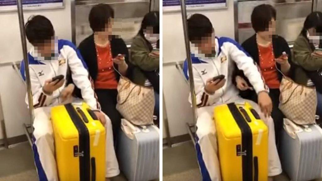 媽媽地鐵上伸手直搗兒褲襠「偷偷上下搓弄10秒鐘」,「兒子表情露餡」網友:媽媽有這麼急?(影片)