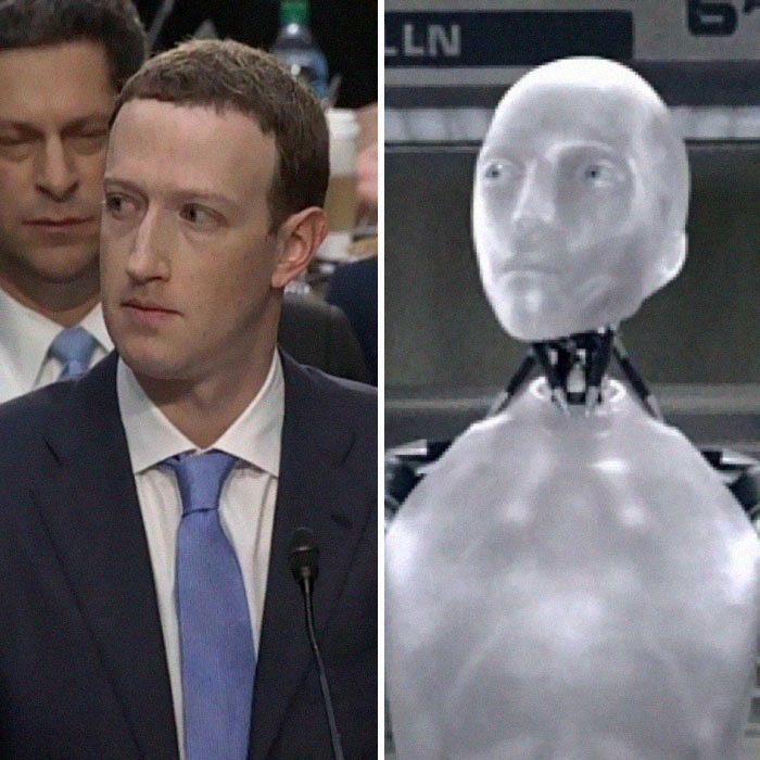 網友又發現了一個「馬克祖克柏是機器人」的證據!注意他的「微笑過程」(影片)