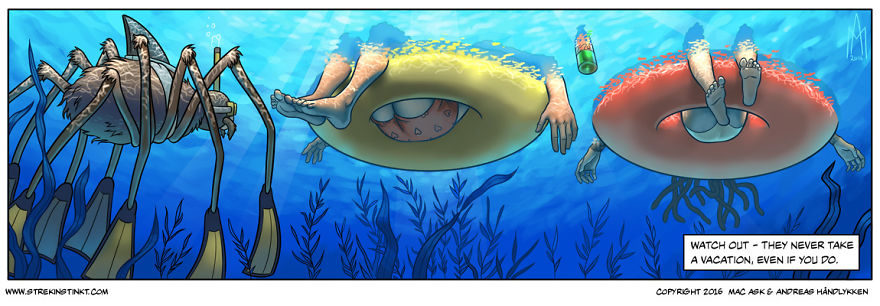 20張讓你嘴不笑但「心臟笑到飛出來」超現實主義搞笑漫畫!