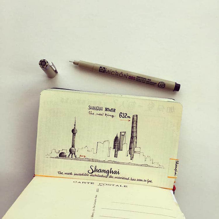 辭掉高薪去環遊世界!他把旅行一切注入筆記本 台灣最美風景也在裡面!