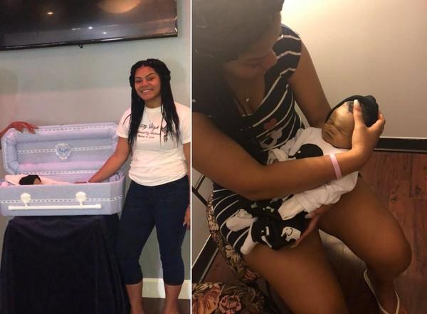 17歲母緊抱死胎「自拍PO網」 網罵:有什麼好討拍?