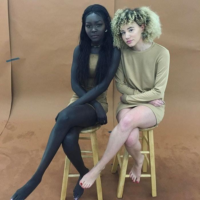 黑到看不見!從小被霸凌→世界模特兒 「黑暗女王」:膚色是我的美麗武器
