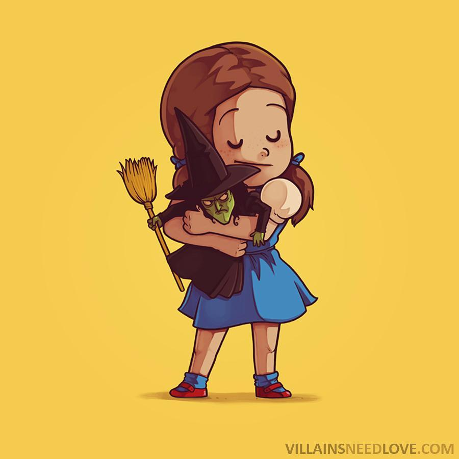 36張爆炸可愛「反派也需要愛」的抱抱圖片!突然發現瑪莉歐才應該戴綠帽...