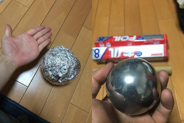 他用巧手「把鋁箔紙變成菜刀」 最後切菜畫面讓人都想搶購鋁箔紙!