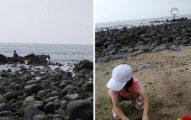 三芝海灘瞬間歐美風!穿「透明泳衣」海邊戲水 網友開心:下次帶望遠鏡