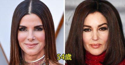 她們竟然同歲?!19對完全不像同齡的女星 保養太厲害