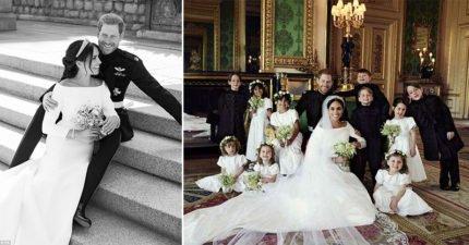 哈利王子最新婚照釋出!肢體語言專家:威廉站的位置很不尋常