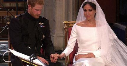 結個婚大家都在看!哈利「大拇指摩擦梅根」 專家:他緊張到快尿褲子