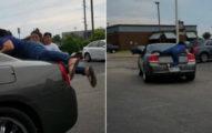 她想阻止不付錢奧客 怒跳後車廂逼停...下秒直接被「載著兜風」