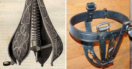 暗黑中世紀女性4大酷刑刑具 只要「苦刑梨」撐開下半身比癱瘓還慘