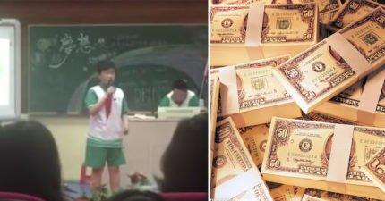 小學生說《我的夢想》 開口點破大人黑暗面:休想叫我捐錢!