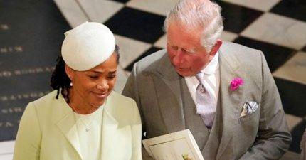 親家風度滿分!梅根媽獨自參加婚禮 查爾斯王子小動作太貼心