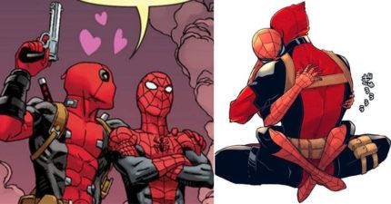 死侍愛上蜘蛛人組「賤蟲」腐到腿夾緊!還穿情侶裝看電影