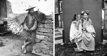 「150年前東亞風貌」首亮相!高官攤販船女...凍結歲月最美一刻