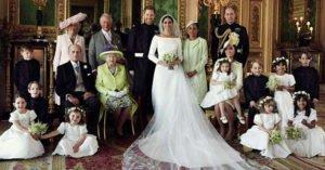 眼尖網友發現皇室婚照「嚴重錯誤」 網:拍照前弄丟了?