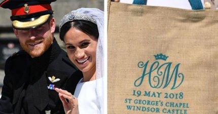皇家婚禮禮品袋超搶手!網上競標「85萬起跳」 但裡面的東西怪怪的?