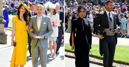 哈利王子世紀婚禮哪些巨星榮幸受邀?貝克漢、克隆尼夫妻成觀眾焦點