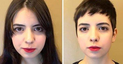 18張說服你放棄當長髮公主「短髮比長髮更正」女生對比照