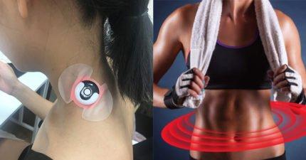 【TEEPR開箱】可重複使用的「智慧型痠痛貼布」深層光波可舒緩便秘、經痛