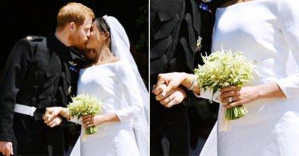 英皇室婚禮「細節藏滿愛意」 戴黛安娜戒指不是最感人「連手上捧花都有洋蔥」