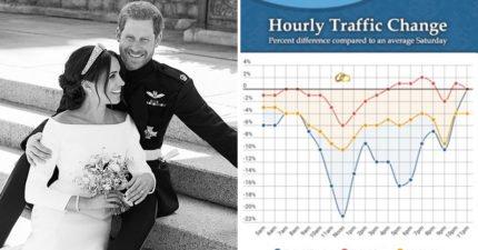 皇室婚禮造成網站「全球流量大跌」 但梅根搜尋量竟輸給「她」!