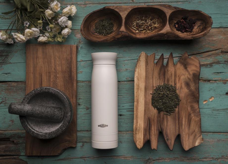 現代版鮮豔「時尚茶壺」在戶外也能體驗現泡茶的美味
