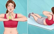 小胸女有救了!10個天天做「不用手術也能UPUP」豐胸運動